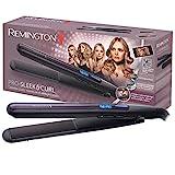 Remington Haarglätter Pro Sleek & Curl S6505, abgerundetes...