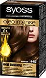 Syoss Oleo Intense Haarfarbe, 4-60 Goldbraun, 3er Pack (3 x...
