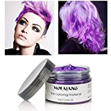 120g Farbiges Haarwachs, MOFAJANG Haarfarbe Wachs Haarcreme...