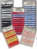 Dauerwellwickler Set - 2-farbig + FP Kosmetiktasche (60...