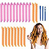URAQT Lockenwickler Große Locken,20pcs DIY Wave Styling Kit...